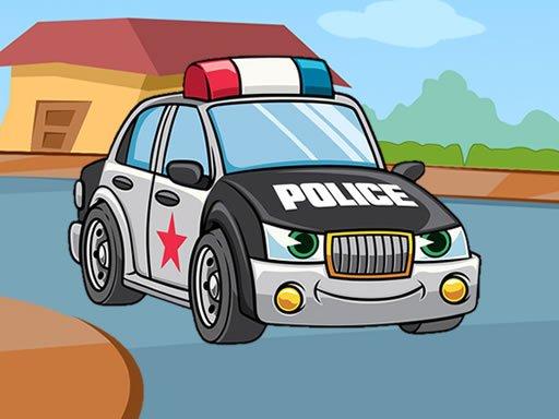 Play Police Cars Jigsaw Now!