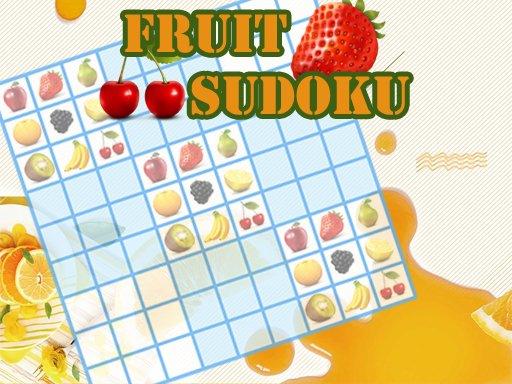 Play Fruit Sudoku Now!