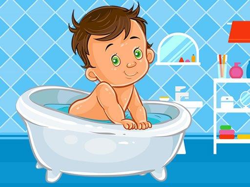 Play Baby Bath Jigsaw Now!