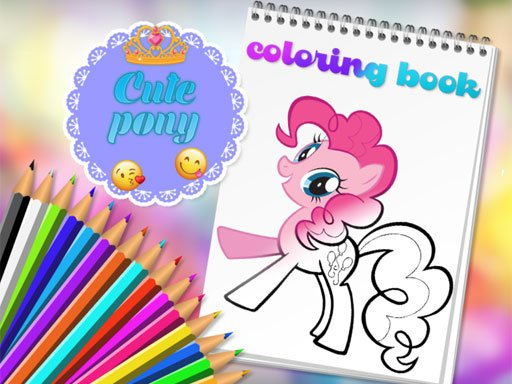 Play Cute Pony Coloring Book Now!