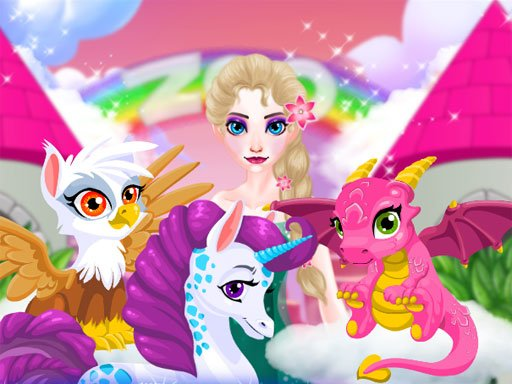Play Elsa Magic Zoo Now!