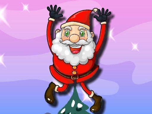 Play Santa Claus Jumping Adventure Now!