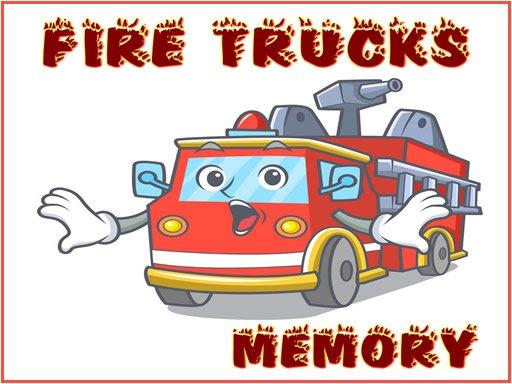 Play Fire Trucks Memory Now!