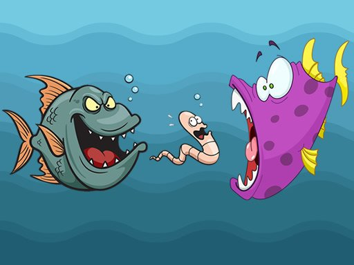 Play Angry Fish Coloring Now!
