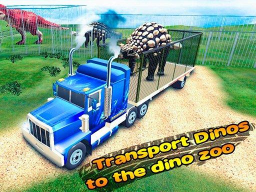 Play Transport Dinos To The Dino Zoo Now!