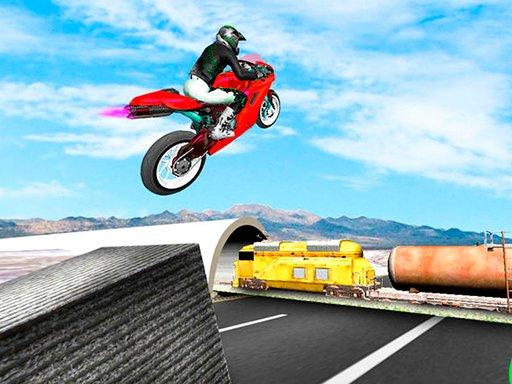 Play Highway Traffic Bike Stunts Now!