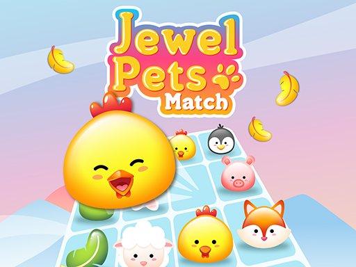 Play Jewel Pets Match Now!