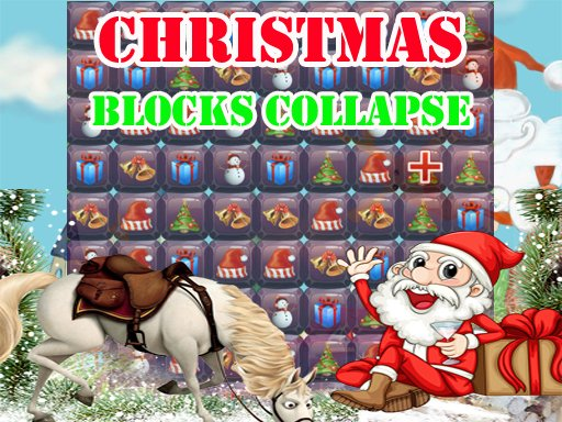 Play Christmas Blocks Collapse Now!