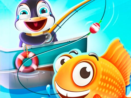 Play Penguin Deep Sea Fishing Now!