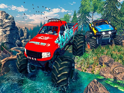 Play Monster 4x4 Offroad Jeep Stunt Racing 2019 Now!