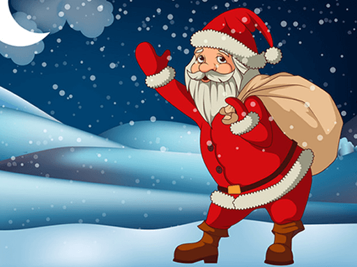 Play Santa Claus Gift Bag Jigsaw Now!