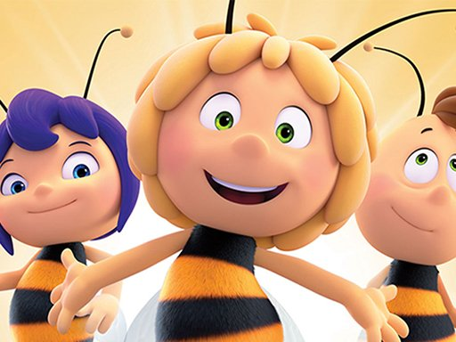 Play Maja the Bee Puzzle Now!