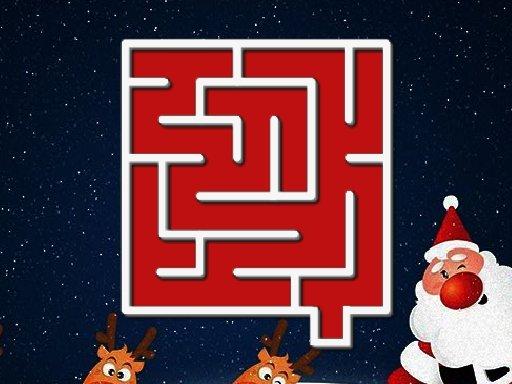 Play Christmas Maze Now!