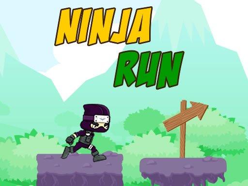 Play Ninja Run Now!