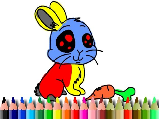 Play BTS Rabbit Coloring Book Now!