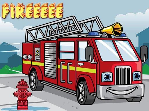 Play Fire Truck Jigsaw Now!