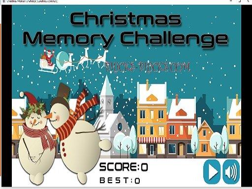Play Christmas Memory Challenge Now!