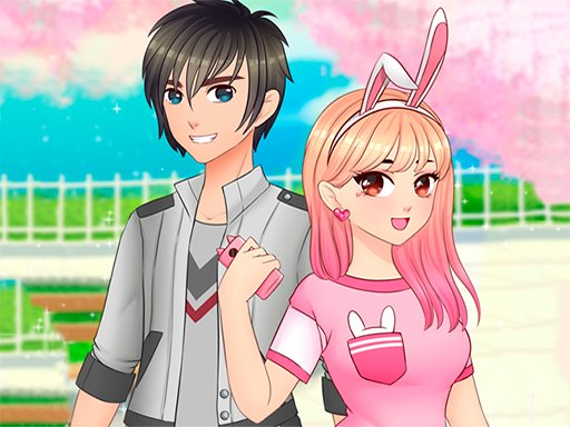 Play Romantic Anime Couples Dress Up Now!