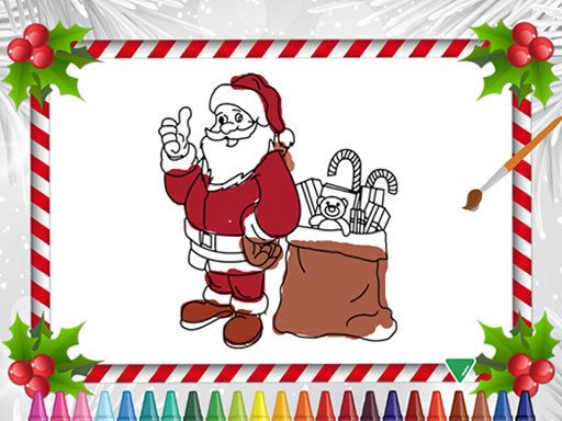 Play Christmas Coloring Book Now!