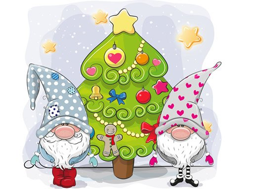 Play Cute Gnomes Hidden Stars Now!