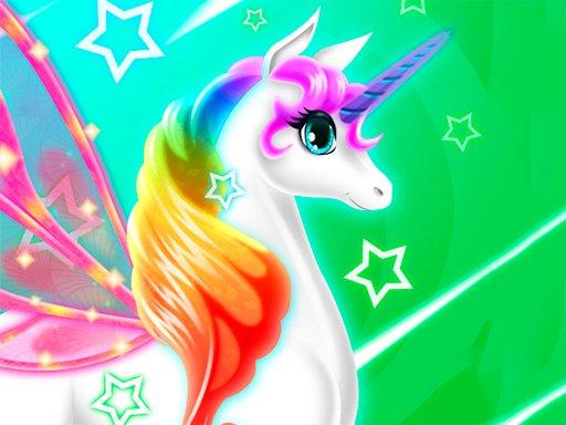 Play My Little Pony Unicorn Dress Up Now!