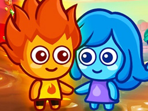 Play Lava Boy And Blue Girl Now!