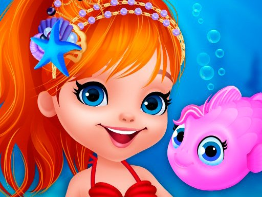 Play Cute Mermaid Dress Up Now!