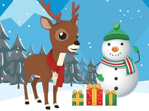 Play Christmas Deer Jigsaw Now!