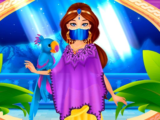 Play Arabian Princess Dress Up Now!