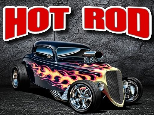 Play Hot Rod Jigsaw Puzzle Now!
