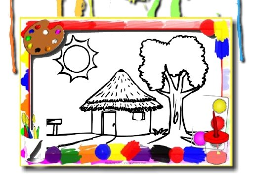 Play House Coloring Book Now!