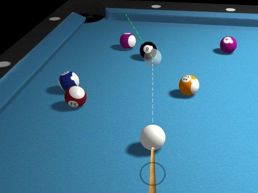 Play 3d Billiard 8 ball Pool  Now!