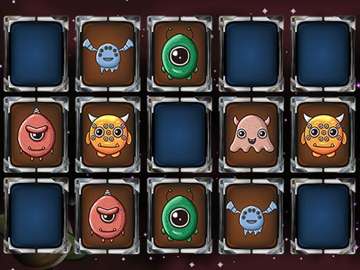 Play Aliens Memory Game Now!