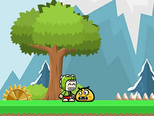 Play Adventure Of Green Kid Now!