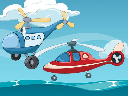 Play Funny Helicopter Memory Now!