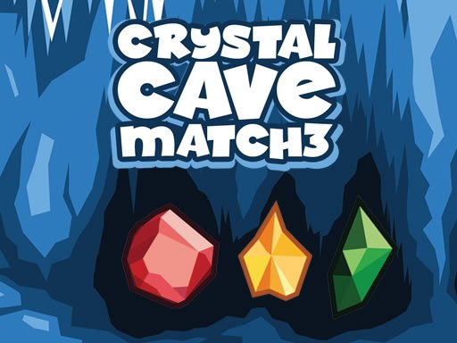 Play Crystal Cave Match 3 Now!
