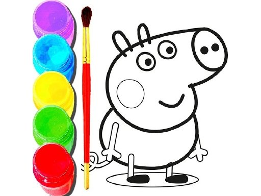 Play BTS Peppa Pig Coloring Now!