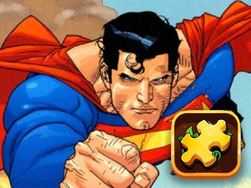 Play Superman Hero Jigsaw Challenge Now!