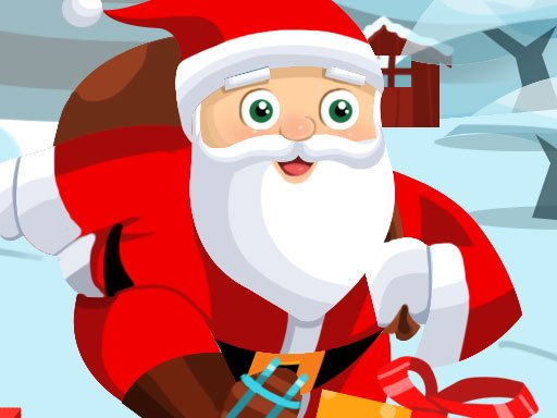 Play Santa on skates Now!
