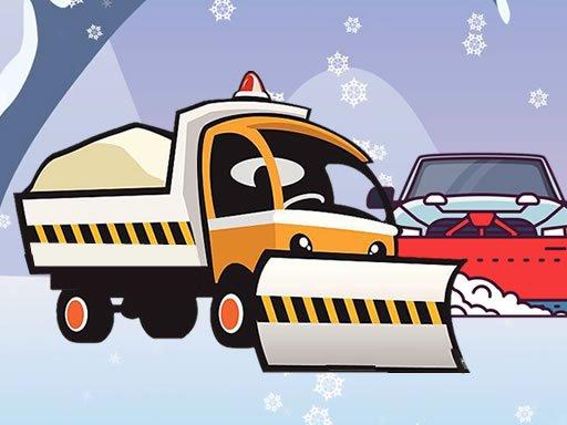 Play Winter Truck Jigsaw Now!