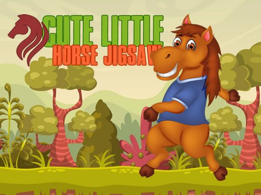 Play Cute Little Horse Jigsaw Now!