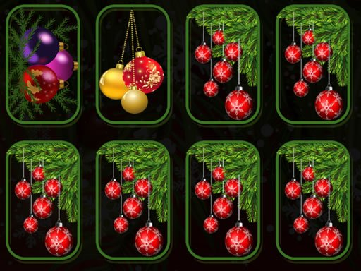 Play Christmas Ornaments Memory Now!