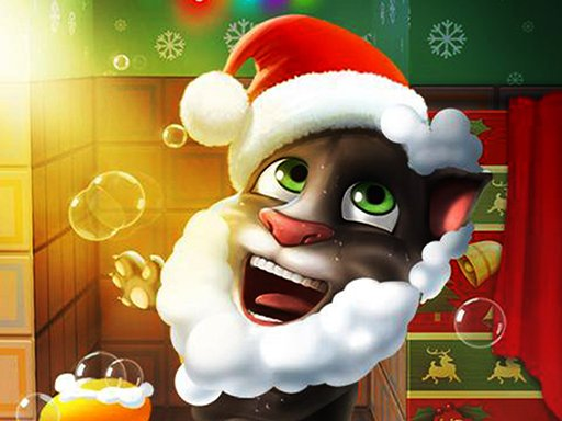 Play Talking Tom Christmas Now!