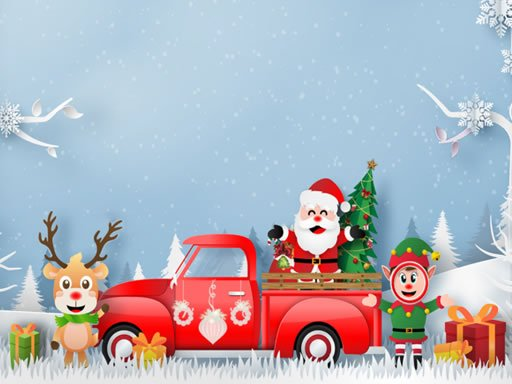Play Christmas Trucks Differences Now!