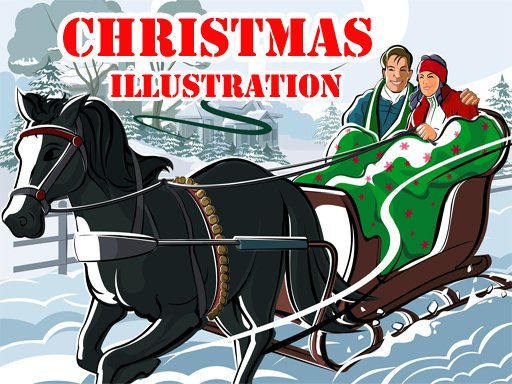 Play Christmas Illustration Puzzle  Now!