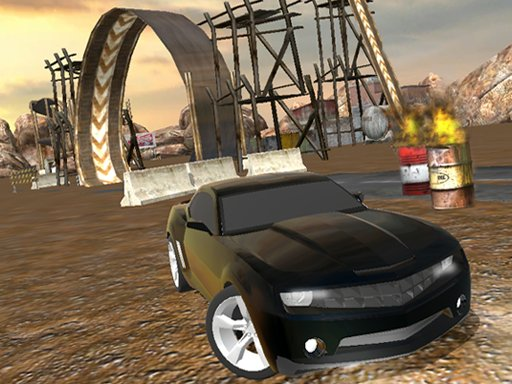 Play Muddy Village Car Stunt Now!
