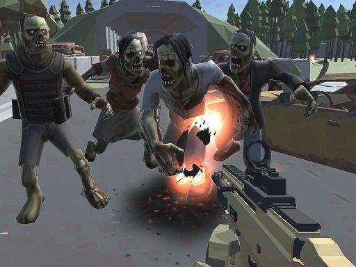 Play Poligon War Zombie Apocalypse Now!