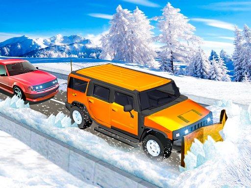 Play Snow Plow Jeep Simulator Now!