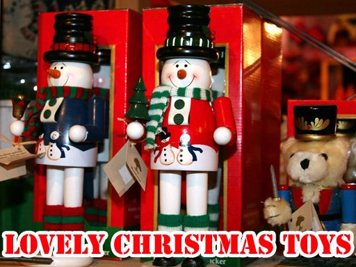 Play Lovely Christmas Toys Puzzle Now!