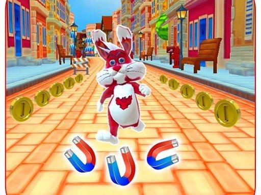 Play Subway Bunny Run Rush Rabbit Runner Game Now!